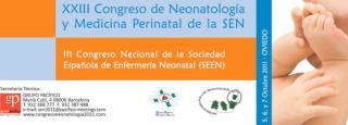 XXIII Congreso de neonatología y medicina perinatal. III Congreso de enfermería neonatal. Oviedo 2011